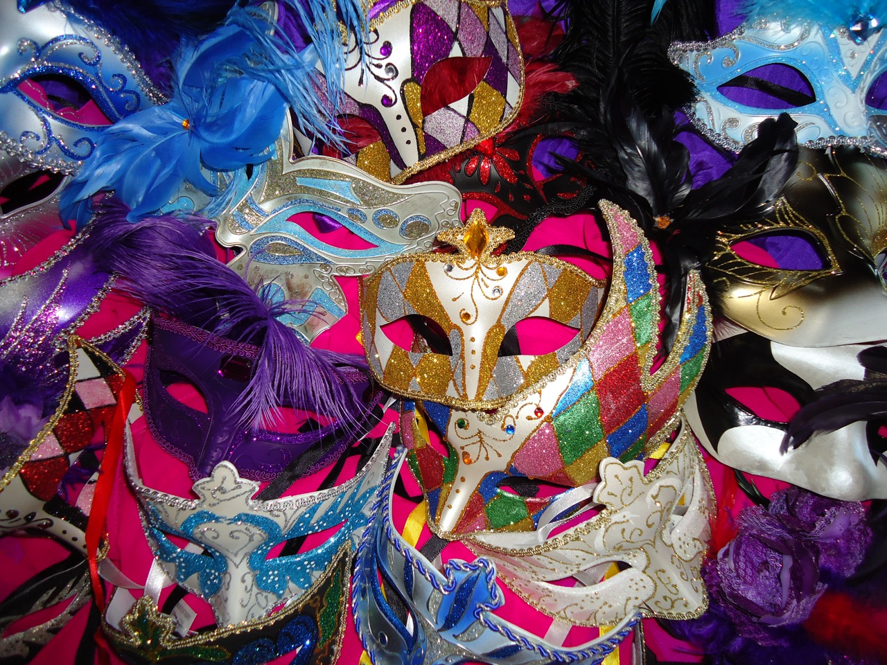 Masquerade Masks for Parties